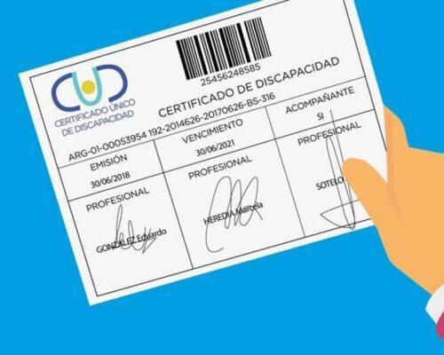 Obtener Certificado de Discapacidad