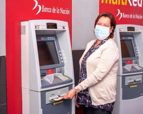 Abono de pensión en cuenta bancaria