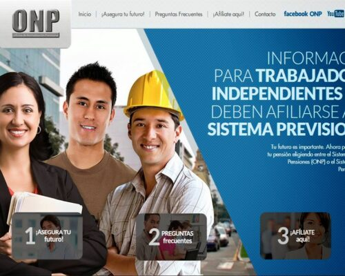 Afiliarme al Sistema Nacional de Pensiones como independiente