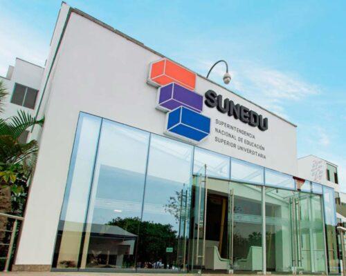 Lista de universidades licenciadas por SUNEDU