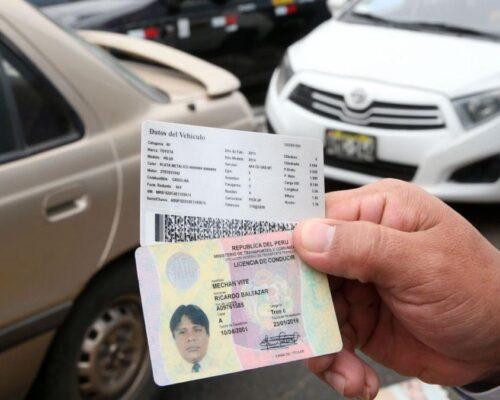 ministerio de transportes licencias de conducir